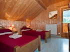 Twin bedroom Morzine chalet