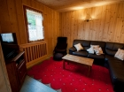 Living area in self catered Chalet