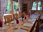 Dinning area Morzine Ski Chalet