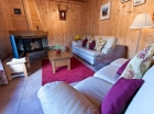 Living area Chalet Eterle