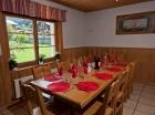 Dinning kitchen area Morzine chalet
