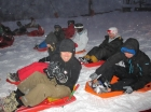 Night Sledging Morzine