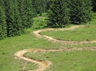 Mtb trails Super Morzine