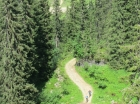 Mountain bike trails Morzine