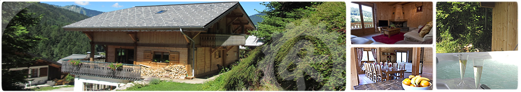 Seself catered chalet with hot tub morzine