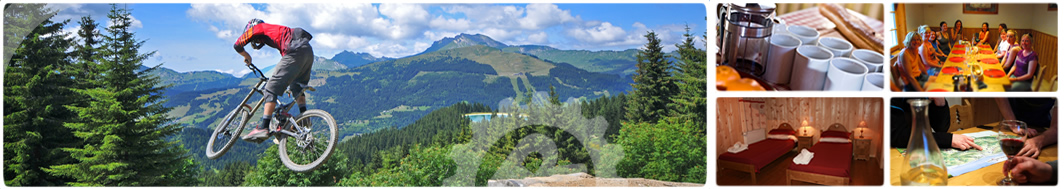your morzine mountain bike holiday