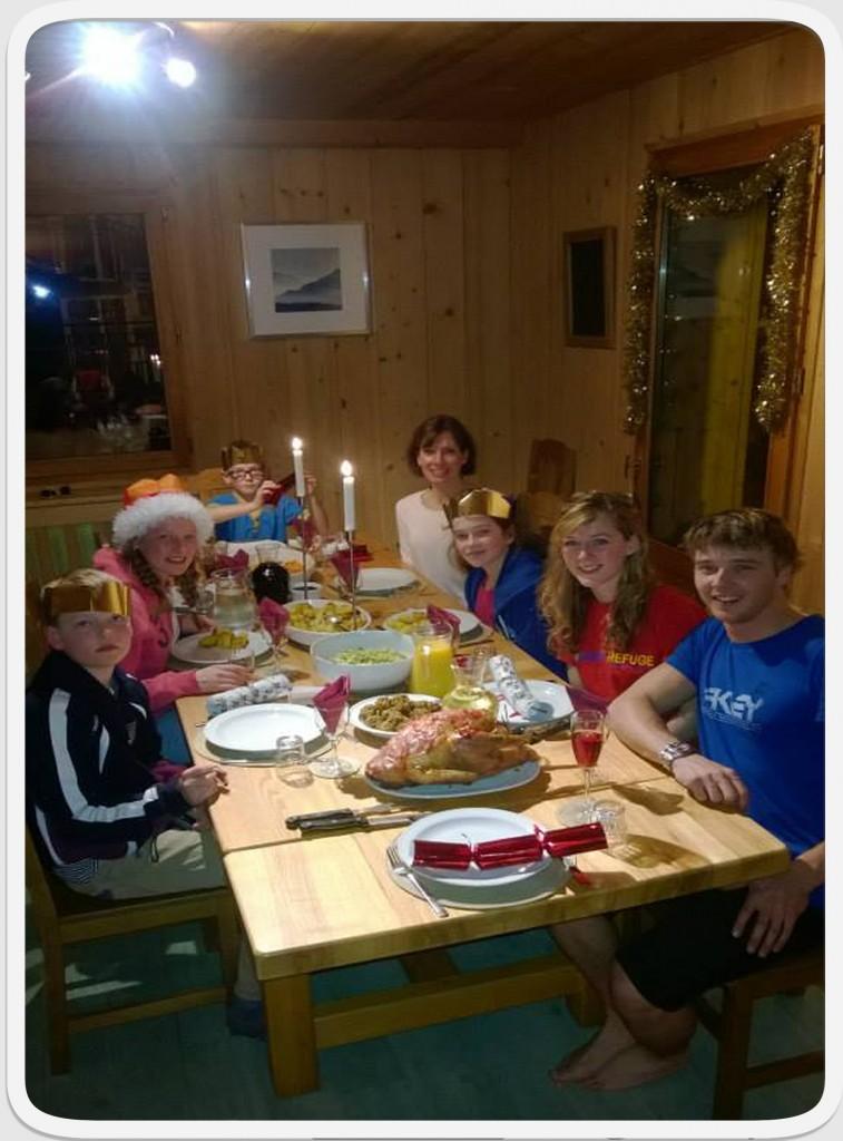 Christmas, Chalet christmas, Morzine
