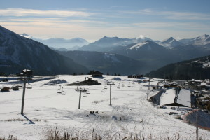 Early snow for Morzine